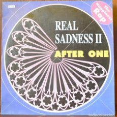 Discos de vinilo: AFTER ONE-REAL SADNESS 2 (BLANCO Y NEGRO, 1991). Lote 91647725