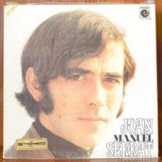 Discos de vinilo: JOAN MANUEL SERRAT (NOVOLA,1969). Lote 91650555