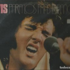 Discos de vinilo: ELVIS PRESLEY LP PORTADA DOBLE (2 DISCOS) SELLO RCA AÑO 1977 EDITADO EN ESPAÑA. Lote 91653525