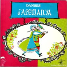 Discos de vinilo: DIE LUSTIGEN TANZER - DANSES D'ALEMANYA (EP) 1968 - DISCOGRAFICA ALS 4 VENTS - COL·LECCIÓ DIDÓ. Lote 36231201