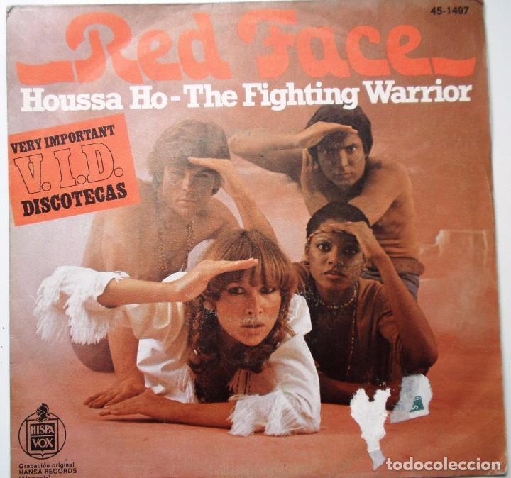 RED FACE ''HOUSSE HO'' DEL AÑO 1977 ES UN SINGLE DE 2 CANCIONES ESPAÑOL (Música - Discos de Vinilo - Maxi Singles - Pop - Rock Internacional de los 70)