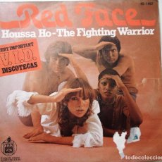 Discos de vinilo: RED FACE ''HOUSSE HO'' DEL AÑO 1977 ES UN SINGLE DE 2 CANCIONES ESPAÑOL. Lote 91655535