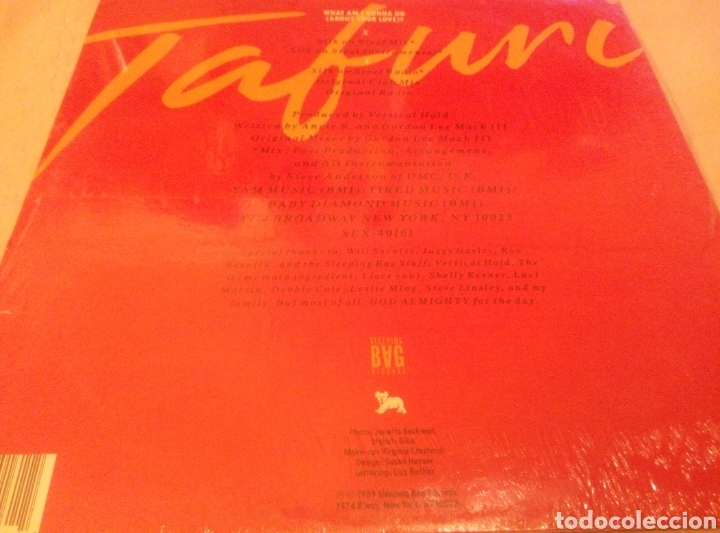 Discos de vinilo: TAFURI. WHAT AM I GONNA DO ABOUT YOUR LOVE? - Foto 3 - 91657624
