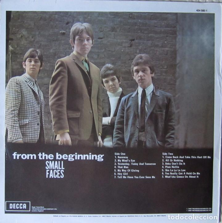 Discos de vinilo: SMALL FACES: FROM THE BEGINNING - Foto 2 - 91685715