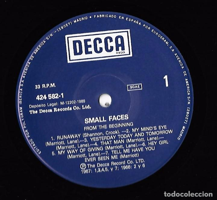 Discos de vinilo: SMALL FACES: FROM THE BEGINNING - Foto 3 - 91685715