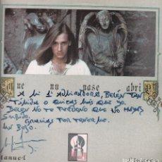 Discos de vinilo: MANUEL LINARES - QUE NO PASE ABRIL / SEVILLANAS 1990 RF-3370, PORTADA INCLUYE DEDICATORIA. Lote 91697145