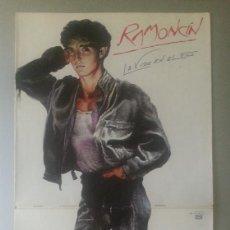 Discos de vinilo: RAMONCÍN – LA VIDA EN EL FILO EMI – 066-1221621 LP 1986. Lote 91697245