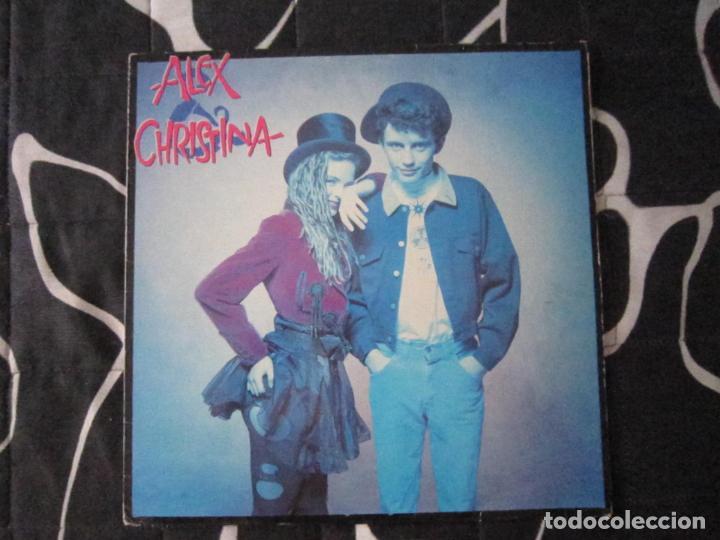 LP - POP - ALEX Y CHRISTINA - 1988 - MADRID (Música - Discos - LP Vinilo - Grupos Españoles de los 70 y 80)