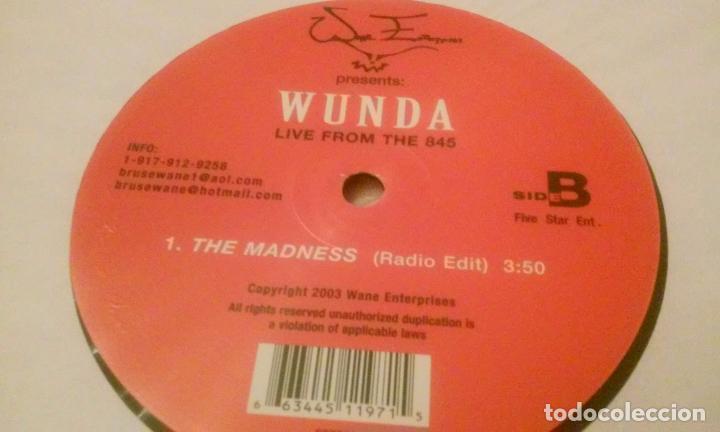 Discos de vinilo: WUNDA LIVE FROM THE 845 (MAXISINGLE DE 3 TEMAS) - Foto 3 - 91731030