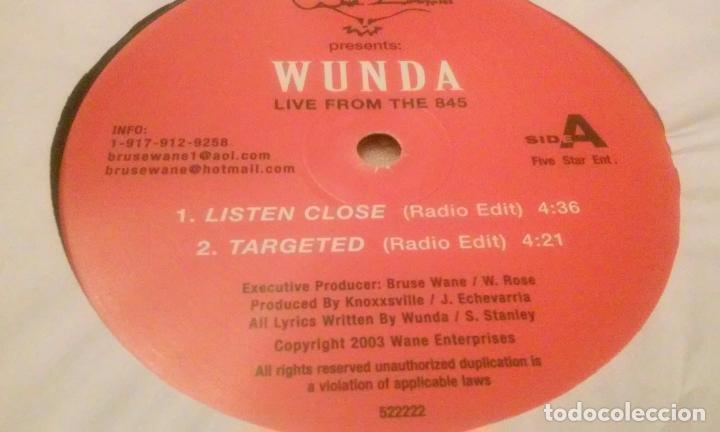 Discos de vinilo: WUNDA LIVE FROM THE 845 (MAXISINGLE DE 3 TEMAS) - Foto 7 - 91731030