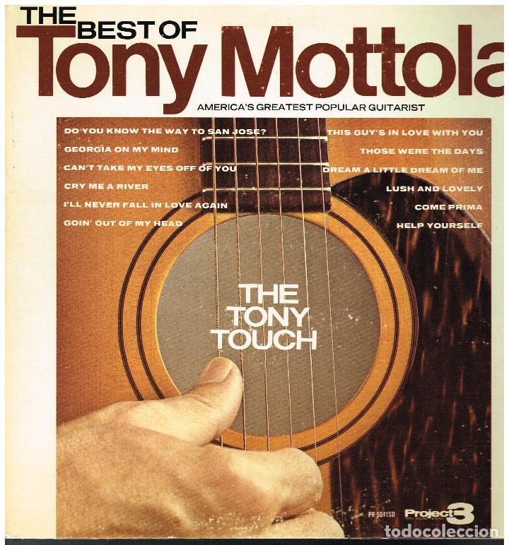 TONY MOTTOLA - THE BEST OF TONY MOTTOLA - LP 1973 - PORTADA DOBLE - ED  USA