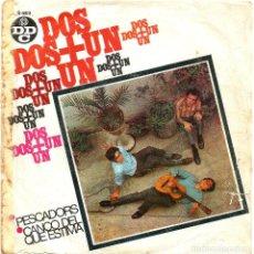 Discos de vinilo: DOS + UN (SG) AÑO 1968 - CANÇÓ CATALANA - DISCOPHON. Lote 36230814