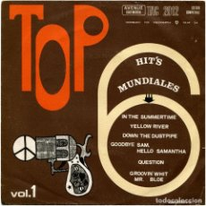 Discos de vinilo: VARIOUS – TOP HIT'S MUNDIALES. VOL. 1 - EP SPAIN 1970 - AVENUE CONTINENTAL TAC 1012. Lote 91748310