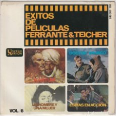 Discos de vinilo: FERRANTE & TEICHER / DOCTOR ZHIVAGO + 3 (EP 1966). Lote 91785775