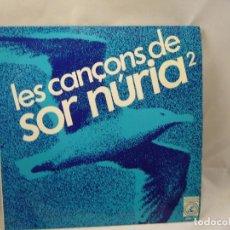 Discos de vinilo: SOR NÚRIA – LES CANÇONS DE SOR NÚRIA 2 – EP SPAIN 1967 – CONCÈNTRIC 6048 UC. Lote 91791900