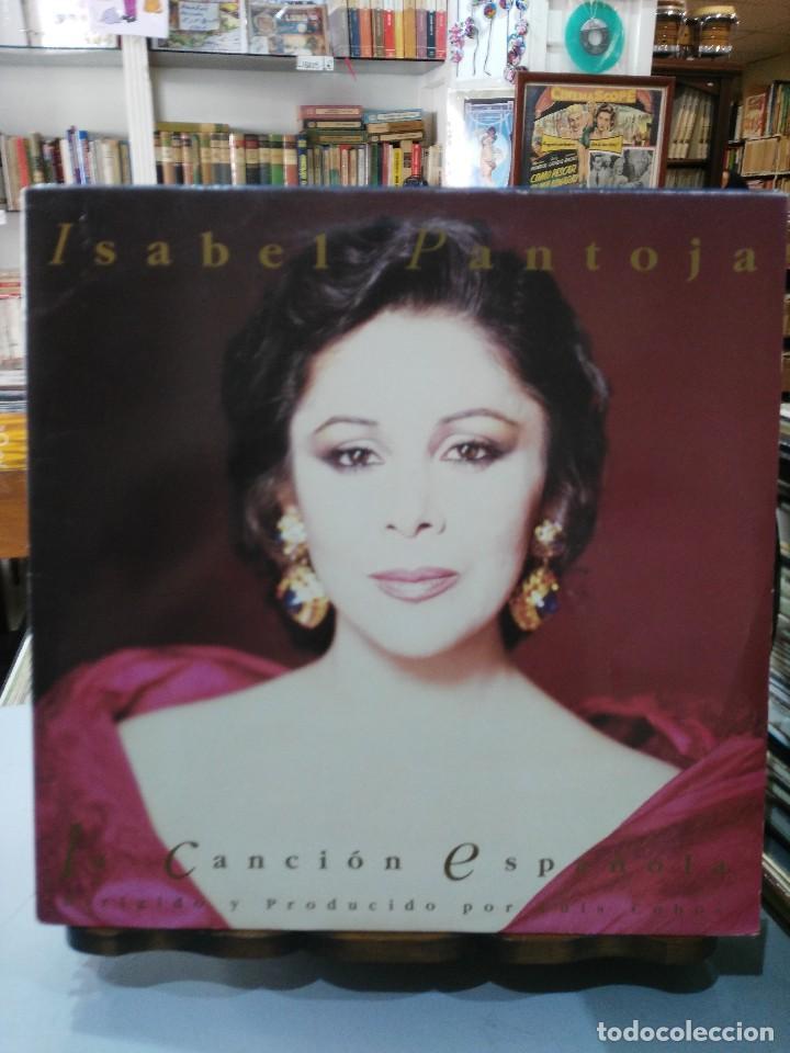 ISABEL PANTOJA - LA CANCIÓN ESPAÑOLA, DIR. LUIS COBOS - DOBLE LP. DEL SELLO RCA DE 1990 (Música - Discos - LP Vinilo - Flamenco, Canción española y Cuplé)