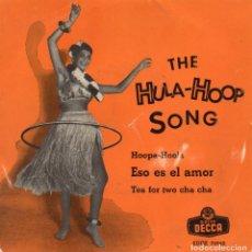 Discos de vinilo: BILL HUMBER AND HIS HULA-KINGS, EP, HULA-HOOP SONG + 3, AÑO 1958. Lote 91805535