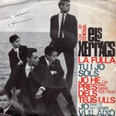 Discos de vinilo: XERRACS, ELS, EP, JO HE PRES DELS TEUS ULLS + 3, AÑO 1965. Lote 91811025