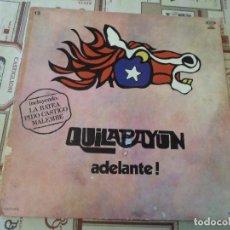 Discos de vinil: QUILAPAYUN - ADELANTE!. Lote 290092533