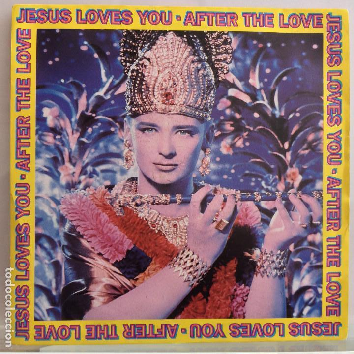 JESUS LOVES YOU - AFTER THE LOVE / AFTER THE LOVE (10 GLORIOUS YEARS EDIT) - NUEVO (Música - Discos - Singles Vinilo - Otros estilos)