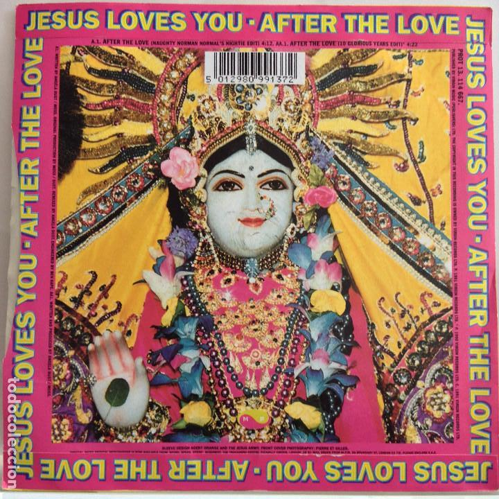 Discos de vinilo: Jesus Loves You - after the love / after the love (10 glorious years edit) - nuevo - Foto 2 - 91826660