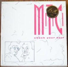 Discos de vinilo: M.T.C.-CHECK YOUR SOUL (HIP HOP RECORDS,1989). Lote 91843730