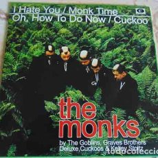 Discos de vinilo: VARIOS – THE MONKS BY THE GOBLINS, GRAVES BROTHERS DELUXE, CUCKOOS & KELLEY STOLTZ. Lote 91844430