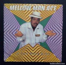 Discos de vinilo: SINGLE MELLOW MAN ACE - IF YOU WERE MINE - HISPAVOX 1990 - DISCO PROMOCIONAL.. Lote 91846490