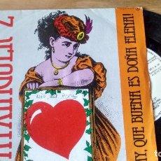 Discos de vinilo: SINGLE (VINILO) DE PATXINGUER Z AÑOS 80. Lote 91847840