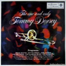 Discos de vinilo: TOMMY DORSEY – THE ONE AND ONLY TOMMY DORSEY - LP SPAIN 1963 - RCA VICTOR LPM 10219. Lote 91853730
