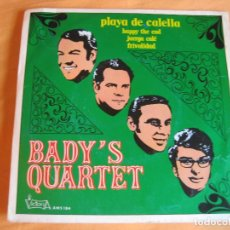 Disques de vinyle: BADY'S QUARTET EP VICTORIA 1971 PLAYA DE CALELLA/ HAPPY THE END / JUERGA CALE / FRIVOLIDAD . Lote 91863870