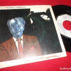 Discos de vinilo: HILARIO CAMACHO LICANTROPIA/SIN DECIR ADIOS SINGLE 7'' 1983 PROMO MOVIEPLAY. Lote 91865000