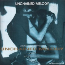 Discos de vinilo: FLOOR-UNCHAINED MELODY - LP MAXISINGLE DE 1991 BLANCO Y NEGRO RF-3411. Lote 91917580