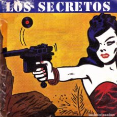 Discos de vinilo: LOS SECRETOS + NO ME IMAGINO + INSTRUMENTAL SINGLE SPAIN 1983 GOOD CONDITION. Lote 91920050
