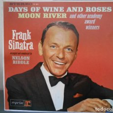 Discos de vinilo: FRANK SINATRA - DAYS OF WINE AND ROSES MOON RIVER. Lote 91939840