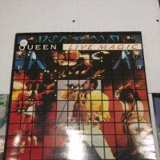 Disques de vinyle: LP - QUEEN - LIVE MAGIC. Lote 91939370