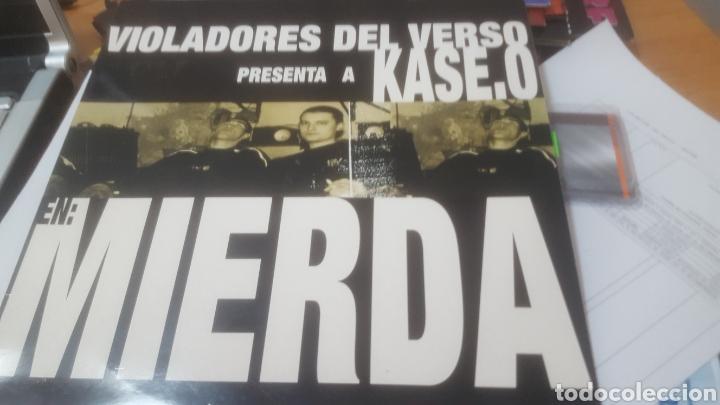 VIOLADORES DEL VERSO PRESENTAN A KASE. O EN: MIERDA (Música - Discos de Vinilo - EPs - Rap / Hip Hop)
