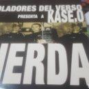 Discos de vinilo: VIOLADORES DEL VERSO PRESENTAN A KASE. O EN: MIERDA. Lote 91951343