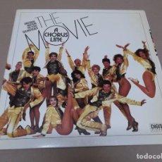 Discos de vinilo: THE MOVIE, A CHORUS LINE (LP) MARVIN HANLISCH AÑO 1986 – PORTADA ABIERTA. Lote 91954565