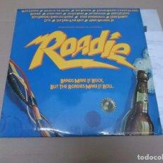 Discos de vinilo: ROADIE (LP) MEAT LOAF, ALICE COOPER, BLONDIE, HANK WILLIAMS JR., CHEAP TRICK AÑO 1980 – HOJA CON LET. Lote 91959060