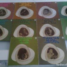 Discos de vinilo: LOTE PACK COLECCION COMPLETA 10 DISCOS VINILOS LPS MUSICA NOVA DO BRASIL - LATIN BOSSA FUNK - RARO!!. Lote 91959805