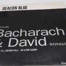 Discos de vinil: VINILO LP , FOUR BACHARACH & DAVID SONGS , DEACON BLUE. Lote 91963535