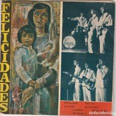 Discos de vinilo: LOS PRACHASG / ALMA QUE VA SOLA + 3 (EP 1967). Lote 91964020