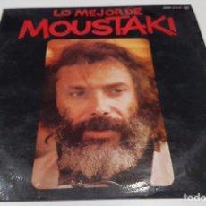 Discos de vinil: VINILO LP , LO MEJOR DE MOUSTAKI. Lote 91966990
