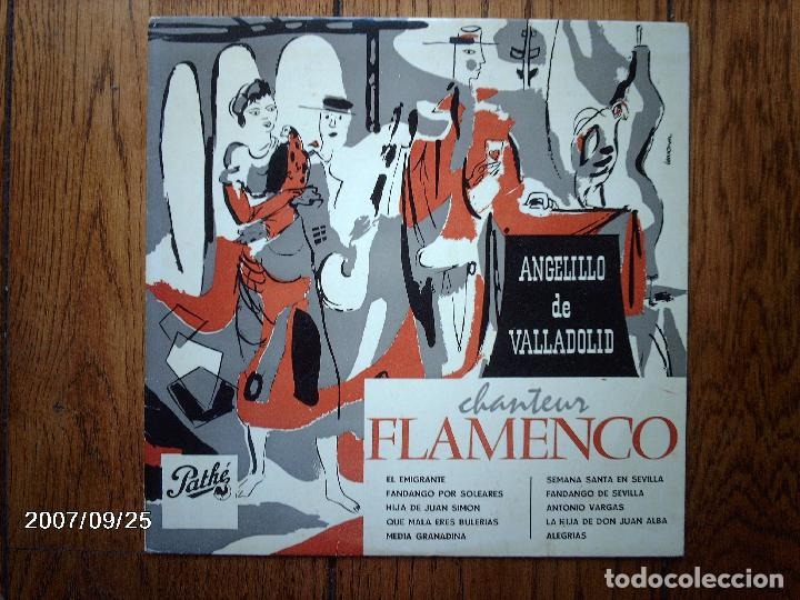 ANGELILLO DE VALLADOLID - CHANTEUR FLAMENCO - DISCO DE 25 CM (Música - Discos - LP Vinilo - Flamenco, Canción española y Cuplé)