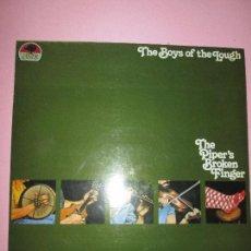Discos de vinilo: LP-THE PIPER´S BROKEN FINGER-THE BOYS OF THE LOUGH-1976-ROUNDER/VEMSA-VER FOTOS. Lote 91993620
