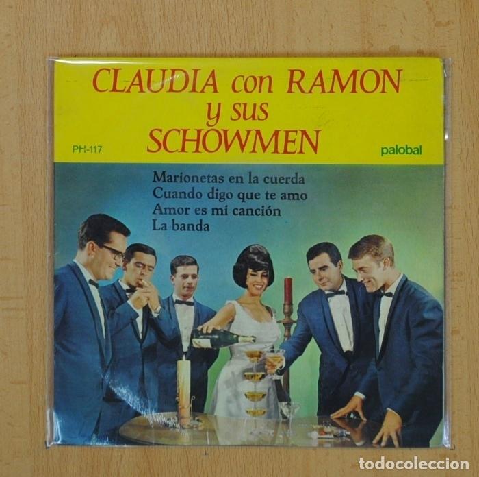 CLAUDIA CON RAMON Y SUS SCHOWMEN - MARIONETAS EN LA CUERDA + 3 - EP (Música - Discos de Vinilo - EPs - Grupos Españoles 50 y 60)
