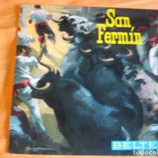 Discos de vinilo: SAN FERMIN EP BELTER 1964 - RONDALLA BIDASOA - UNO DE ENERO - LEVANTATE PAMPLONICA - FOLK NAVARRO. Lote 92018000