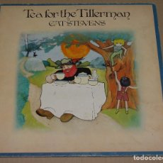 Discos de vinilo: CAT STEVENS - TEA FOR THE TILLERMAN *** CARPETA DOBLE LP ESPAÑOL 1971. Lote 92031940