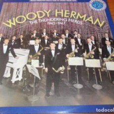 Discos de vinilo: WOODY HERMAN, THE THUNDERING HERDS 1945- 1947 - LP CBS JAZZ MASTERPIECES -. Lote 92034000
